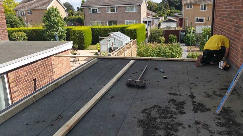 Flat Roof Repairs Stowmarket